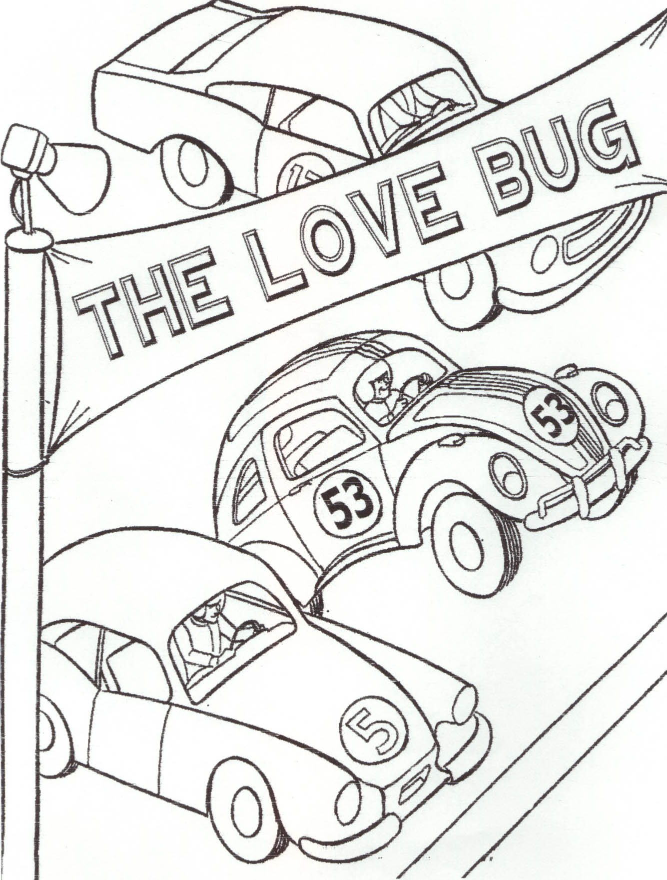 Coloring Pages Herbie Coloring Pages welcome to herbies kids page